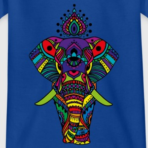 Bombay Elephant - Teenager-T-shirt