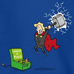 Thor God of Whack a Mole - Teenager T-shirt