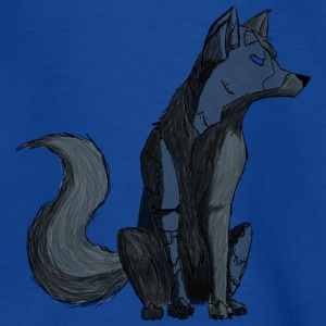 Wolf Cyborg - Teenage T-shirt