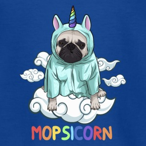 Mopsicorn! Pug in eenhoorn kostuum - Teenager T-shirt