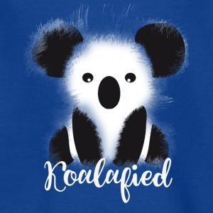 koala pluizig snoezig kinderen cartoon - Teenager T-shirt