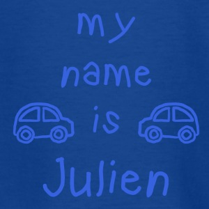 MY NAME IS JULIAN - T-skjorte for tenåringer