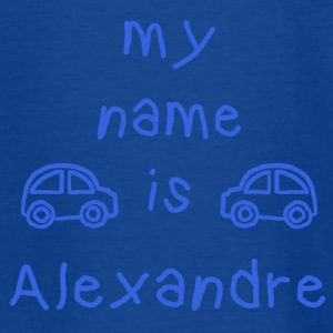 MY NAME IS ALEXANDER - T-skjorte for tenåringer