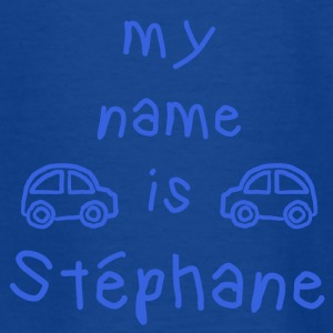 STEPHANE MY NAME IS - Teenage T-shirt