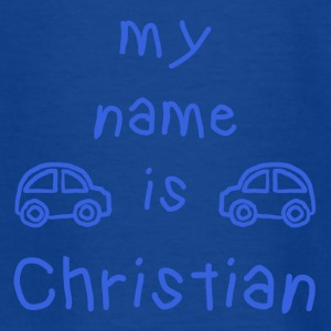 CHRISTIAN MY NAME IS - T-shirt Ado