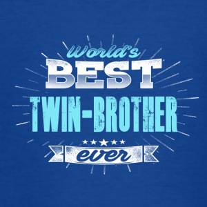 World's Best Twin Brother - Teenager T-shirt