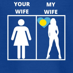 Palau geschenk my wife your wife - Teenager T-Shirt