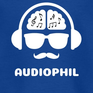 Audiophil MUSIK SHIRT - Teenager T-Shirt