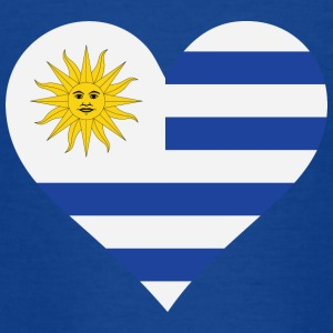 A Heart For Uruguay - Teenage T-shirt