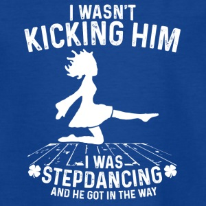 Stepdancing - Teenage T-shirt