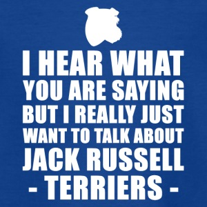 Funny Jack Russell Terrier Gift Idea - Teenage T-shirt
