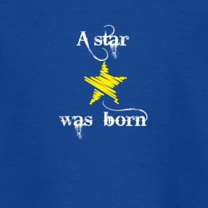 Baby born star birth christening gift love stick LO - Teenage T-shirt