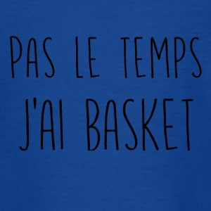 ingen tid basketball - Teenager-T-shirt