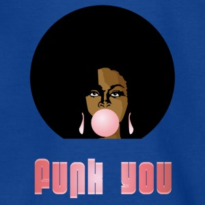 Funk You 70's Retro Bubblegum Afro Queen - Teenage T-shirt
