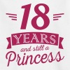 18 years and still a princess - Camiseta adolescente