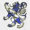 Scottish Lion Rampant and Saltire Flag - Teenage T-Shirt