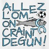 Allez l'OM, On Craint Degun, Foot Marseille - T-shirt Ado