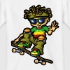 bboy rasta and skate - T-shirt Ado
