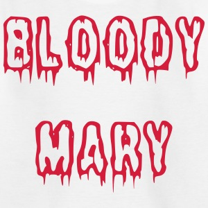 Bloody Mary blutige Schrift - Teenager T-Shirt