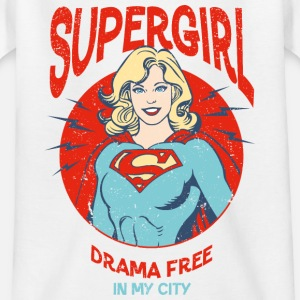 Supergirl Teenager T-Shirt Drama Free