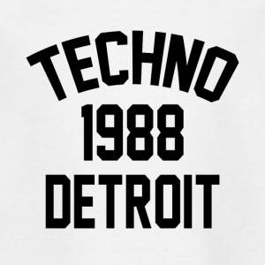 Techno 1988 Detroit - T-shirt tonåring