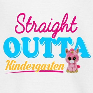OUTTA KINDERGARTEN - Teenage T-shirt