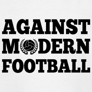 Against Modern Football - Camiseta adolescente