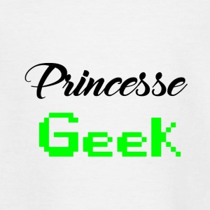 princesse geek - T-shirt Ado