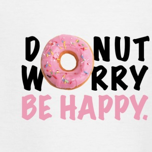 DONUT ROLIG Be Happy - Teenager-T-shirt