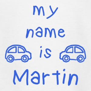 Mein Name ist Martin - Teenager T-Shirt