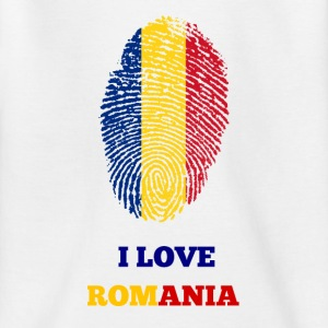 I Love Romania - Teenage T-shirt