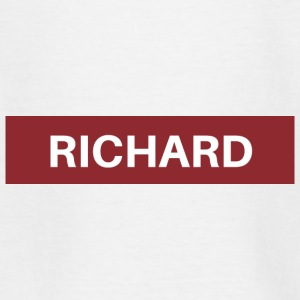Richard - Camiseta adolescente
