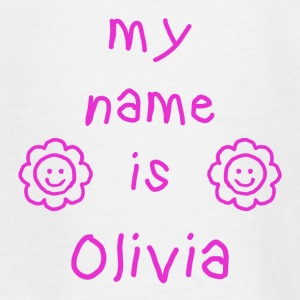 OLIVIA MEIN NAME - Teenager T-Shirt