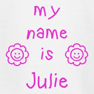JULIE MY NAME IS - T-shirt Ado