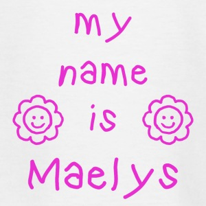 MAELYS MY NAME IS - T-shirt Ado