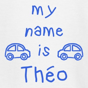 THEO MY NAME IS - Teenage T-shirt
