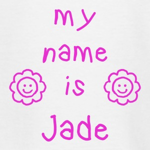 JADE MEIN NAME - Teenager T-Shirt