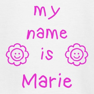 MARIE MY NAME IS - T-shirt Ado