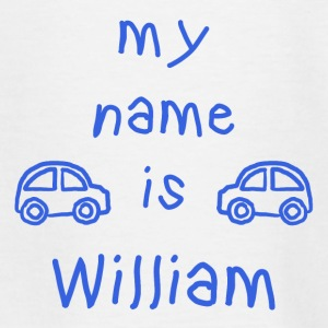 WILLIAM MY NAME IS - Teenage T-shirt