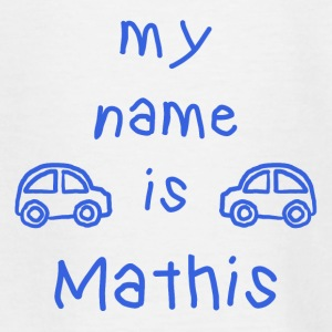 MATHIS MY NAME IS - Teenage T-shirt
