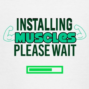 Installing Muscles - Teenage T-shirt