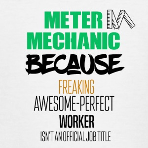 meter mekaniker - Teenager-T-shirt