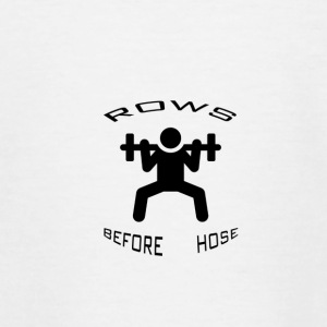 ROWS BEFORE HOSE - Teenage T-shirt