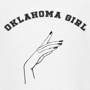Erklæring: Oklahoma Girl - Teenager-T-shirt
