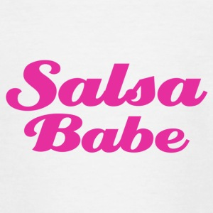Salsa Babe - Teenager-T-shirt