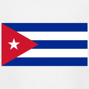 National Flag Of Cuba - T-skjorte for tenåringer