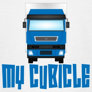 Trucker / Truck Driver: Mijn Cel - Teenager T-shirt