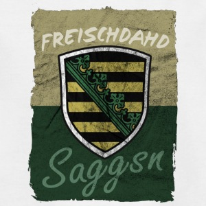 Freischdahd saGGSN - Teenager-T-shirt