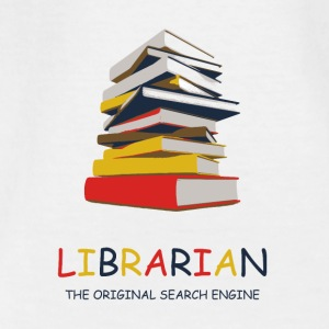 Library Library Librarian - Teenage T-shirt