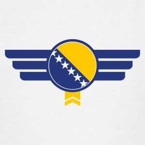 Bosnia flag emblem - Teenage T-shirt